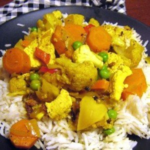 Coconut Chicken and Vegetable Curry