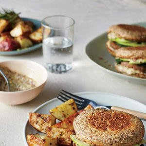Sausage, Spinach, and Apple Breakfast Sandwiches