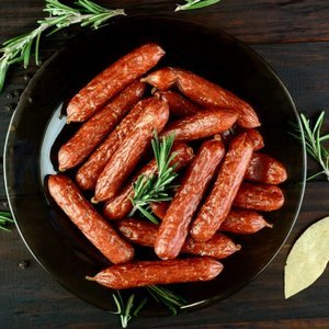 Spicy Wholegrain Mustard and Ginger Cocktail Sausages