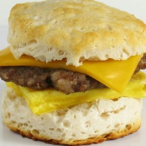 McDonald's Sausage, Egg, and Cheese Biscuit
